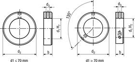 bn866 stellringe leichte reihe mueller ag komponenten service langenthal. Black Bedroom Furniture Sets. Home Design Ideas