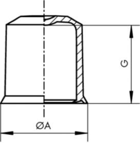 klemmkappe kapsto gpn 1010 schwarz hasler co ag. Black Bedroom Furniture Sets. Home Design Ideas